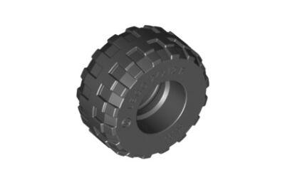 LEGO kerék, gumi 24 x 12 R