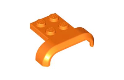 LEGO jármű, sárvédő, 4 x 3 x 1, íves