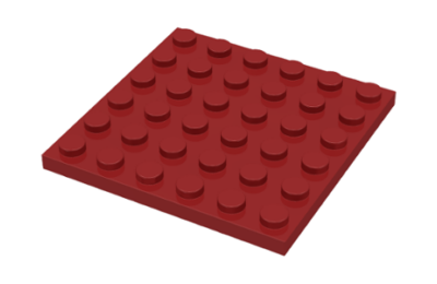LEGO alaplap 6 x 6