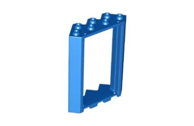 LEGO ajtókeret, 4 x 4 x 6, ferde sarok