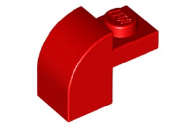 LEGO tető, 1 x 2 x 1 1/3, íves felső résszel