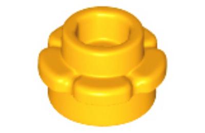 LEGO alaplap 1 x 1, virág forma, 5 szirommal