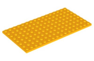 LEGO alaplap 8 x 16