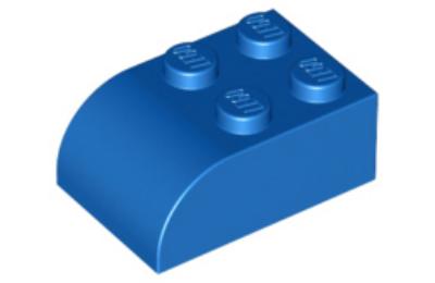 LEGO tető, 2 x 3 íves oldallal