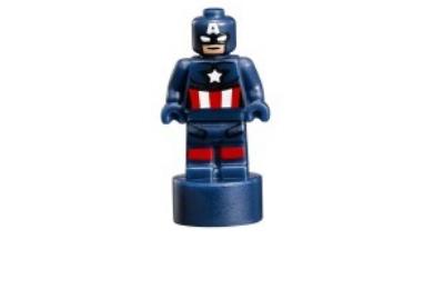 LEGO trófea, szobrocska - Amerika kapitány