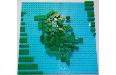 LEGO Szett - Zöld rét