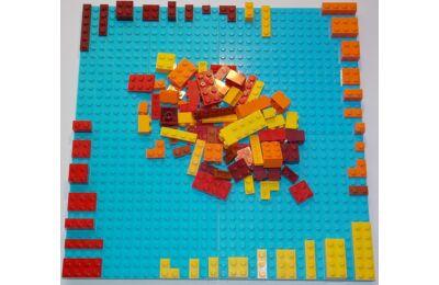 LEGO Szett - Tüzes