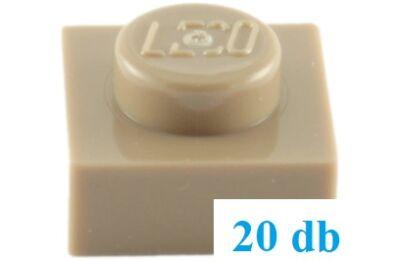 LEGO alaplap 1 x 1 - CSOMAG ÁR
