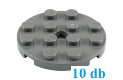 LEGO alaplap, kerek 4 x 4, lyukkal a közepén - CSOMAG ÁR