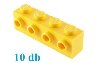 LEGO kocka, módosított, 1 x 4, 4 csatlakozóval az oldalán - CSOMAG ÁR
