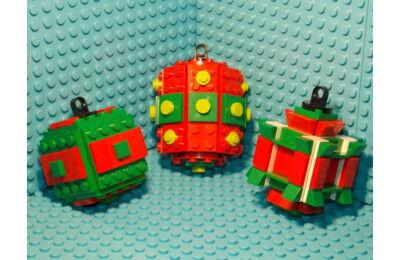 LEGO Karácsonyfadísz 2