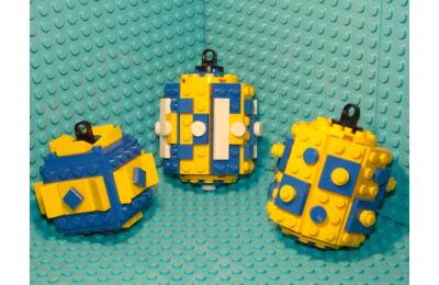 LEGO Karácsonyfadísz 9