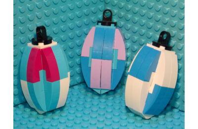 LEGO Karácsonyfadísz 12