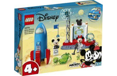 Mickey egér és Minnie űrrakétája