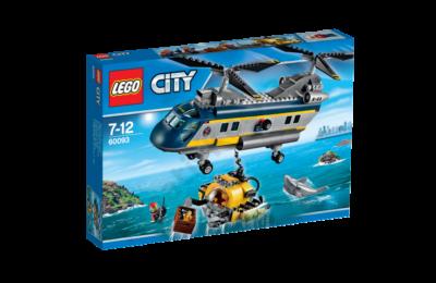 Mélytengeri helikopter - SÉRÜLT DOBOZ