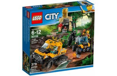 Dzsungel küldetés félhernyótalpas járművel