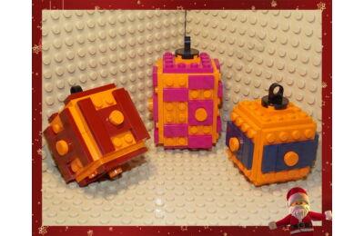 LEGO Karácsonyfadísz 1