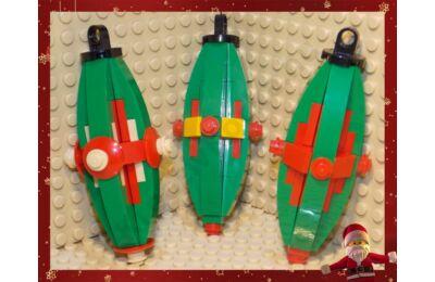 LEGO Karácsonyfadísz 4