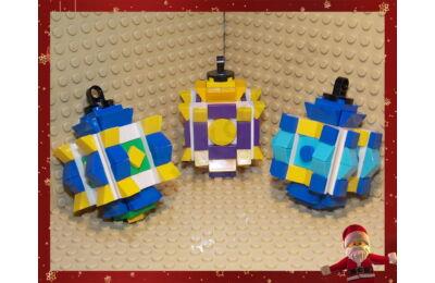 LEGO Karácsonyfadísz 5